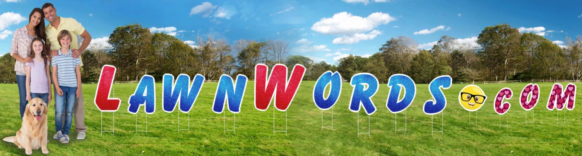 lawn letter image