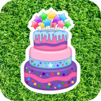 birthday button image