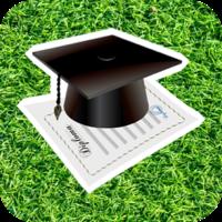graduation button image