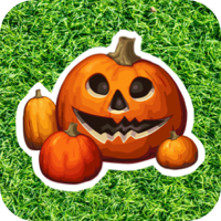 halloween button image